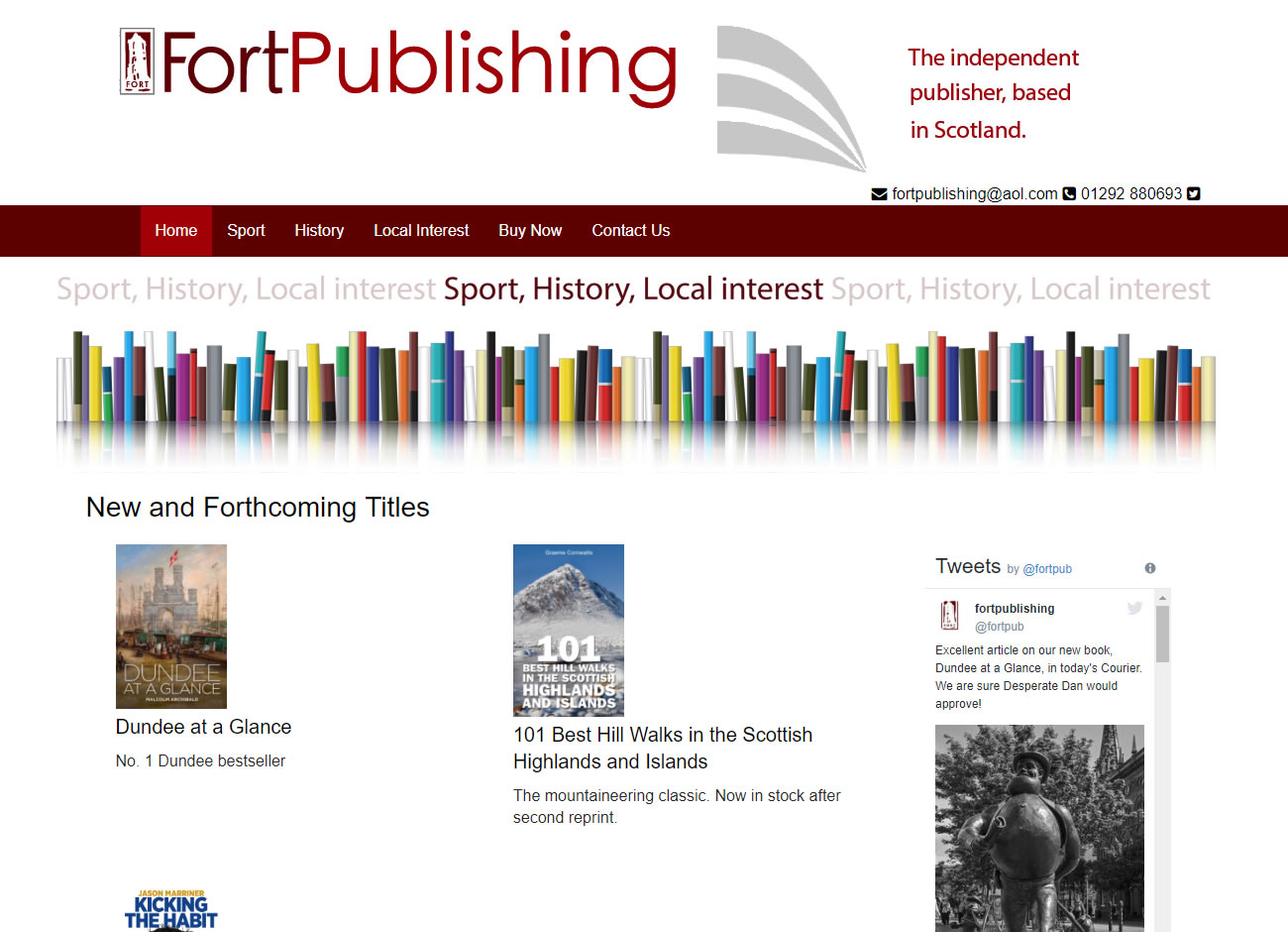 Fort Publishing Ayr - Website Design Ayrshire