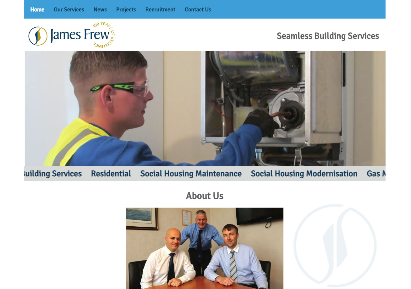 James Frew - Website Design Ayrshire